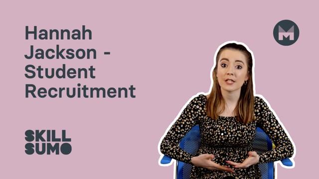 Hannah Jackson: Student Recruitment