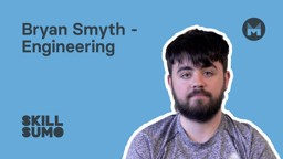 NWRC: Bryan Smyth in Engineering