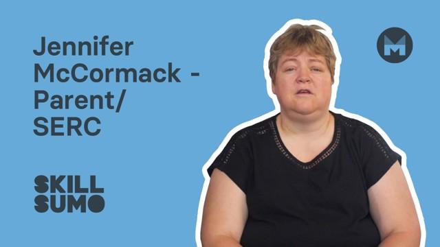 SERC: Jennifer McCormack as a Parent