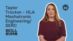 SERC: Taylor Trouton in HLA Mechatronic Engineering